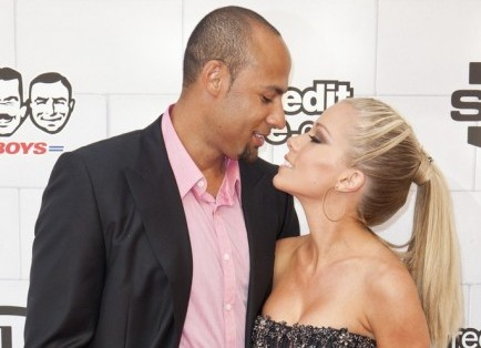 Kendra Wilkinson and Hank Basket, Emiley Schweich / PR Photos