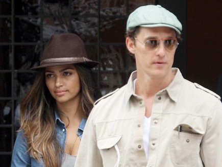 Cupid's Pulse Article: Matthew McConaughey & Camila Alves Enjoy Some Alone Time