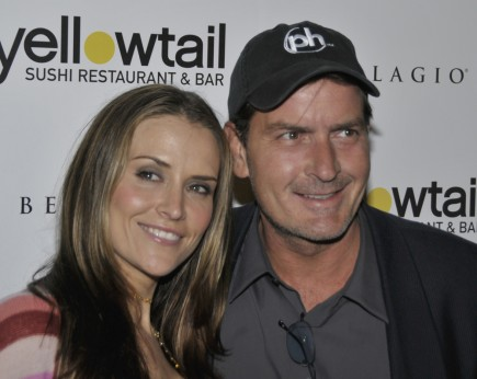 Charlie Sheen and Brooke Mueller. Photo: Robert Kenney / PR Photos