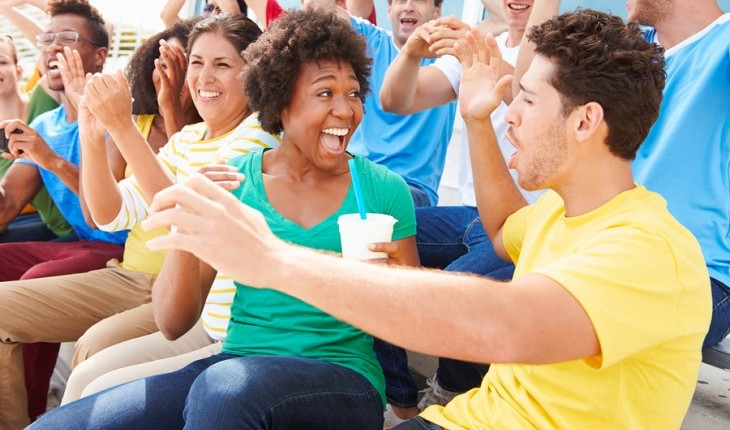 Cupid's Pulse Article: Date Idea: Cheer on a National Sports Team