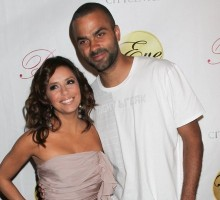 Eva Longoria & Tony Parker Celebrate Anniversary in Europe