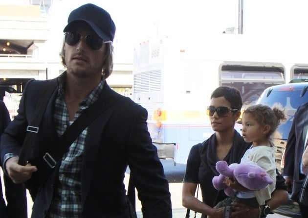 Halle Berry, Gabriel Aubry and daughter Nahla Ariela Aubry. Photo:  PR Photos Candids