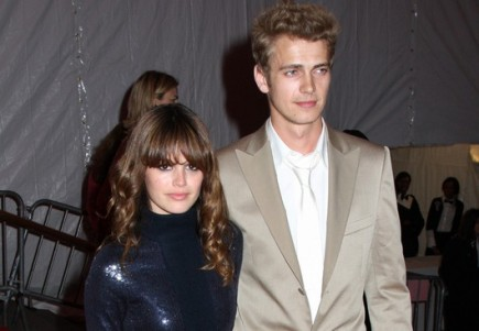 Rachel Bilson and Hayden Christensen. Photo:  Janet Mayer / PR Photos