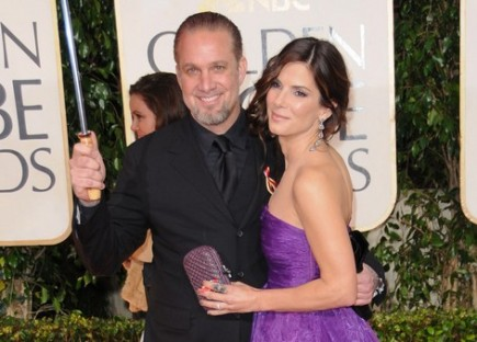 Jesse James and Sandra Bullock. Photo: Bob Charlotte  / PR Photos