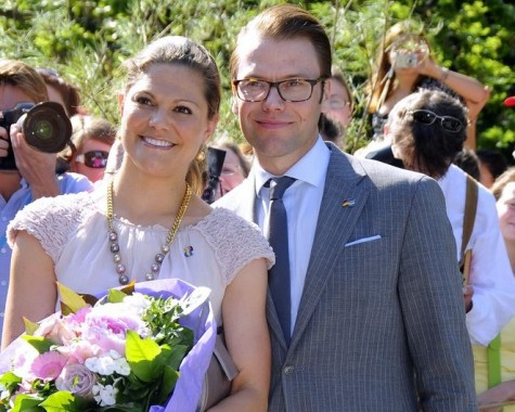 Cupid's Pulse Article: Crown Princess Victoria of Sweden Marries Personal Trainer