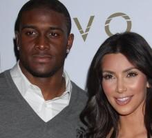 Kim Kardashian Supports Ex Reggie Bush