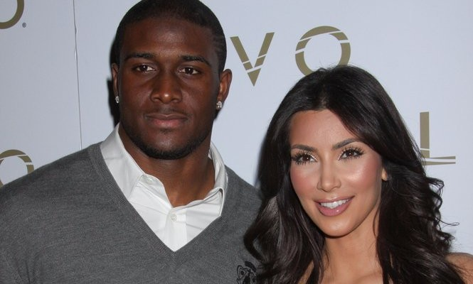 Cupid's Pulse Article: Kim Kardashian Supports Ex Reggie Bush