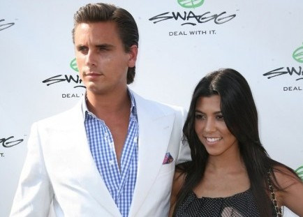 Scott Disick and Kourtney Kardashian. Photo: Jakes Van Der Watt / PR Photos