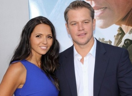 Cupid's Pulse Article: Matt Damon Credits Spouse for Keeping Busy Lives on Track