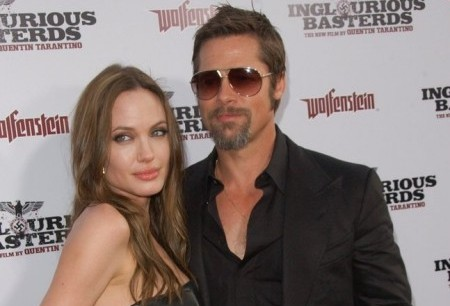 Angelina Jolie and Brad Pitt. Photo: Albert L. Ortega / PR Photos