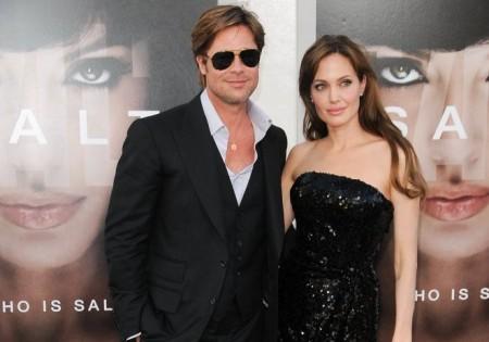 Brad Pitt and Angelina Jolie. Photo: Bob Charlotte / PR Photos