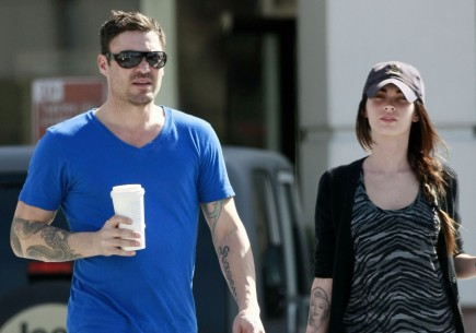 Brian Austin Green and Megan Fox. Photo: DS/RR/ME/Rocstar/Flynetpictures.com