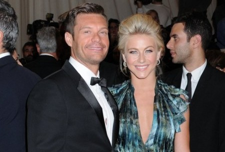 Ryan Seacrest and Julianne Hough. Photo: Janet Mayer / PR Photos
