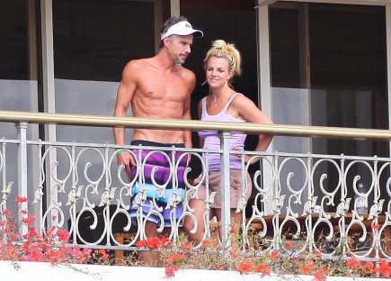 Britney Spears and Jason Trawick.  Photo: PIXX/Tsunami/Flynetpictures.com