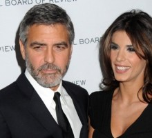 """Elisabetta Canalis Describes """"Father-Daughter"""" Relationship with George Clooney"""