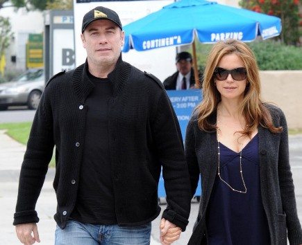 John Travolta and Kelly Preston. Photo: MOB/Flynetpictures.com