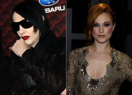 Cupid's Pulse Article: Did Marilyn Manson Help Raise Evan Rachel Wood?