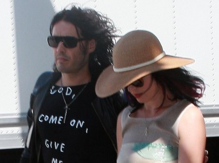 Russell Brand and Katy Perry. Photo: DS/DINO/JERC/Flynetpictures.com