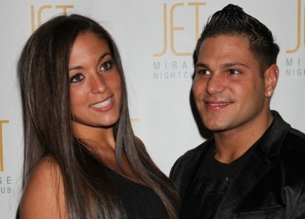 Sammi Giancola and Ronnie Ortiz-Magro. Photo: PRN / PR Photos