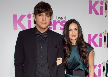 Ashton Kutcher and Demi Moore. Photo: Chris Hatcher / PR Photos