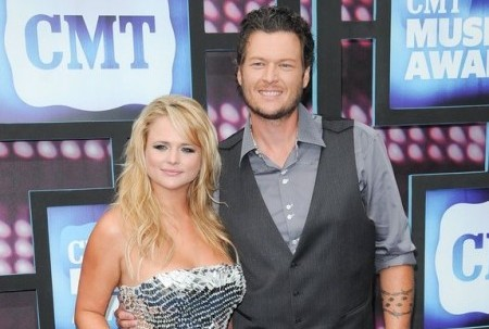 Miranda Lambert and Blake Shelton. Photo: Bob Charlotte / PR Photos