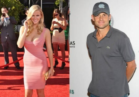 Brooklyn Decker and Andy Roddick. Photo: Allen Berezovsky / PR Photos; Sylvain Gaboury / PR Photos