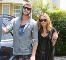 Spotted: Miley Cyrus & Liam Hemsworth