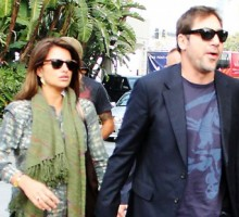 Penélope Cruz and Javier Bardem Find Time for Romantic Dinner