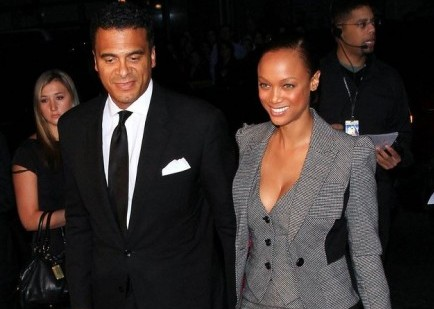 Cupid's Pulse Article: Tyra Banks Takes Low-Key BF to Premiere