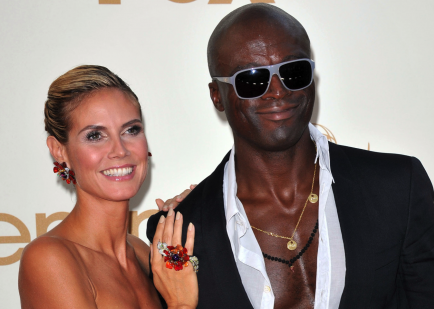 Heidi Klum and Seal.  Photo: KM/Flynetpictures.com