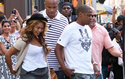 Beyonce Knowles and Jay Z. Photo: Brian Flannery/FlynetPictures.com