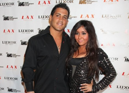 "Jionni Lavalle and Nicole ""Snooki"" Polizzi. Photo: PRN / PR Photos"