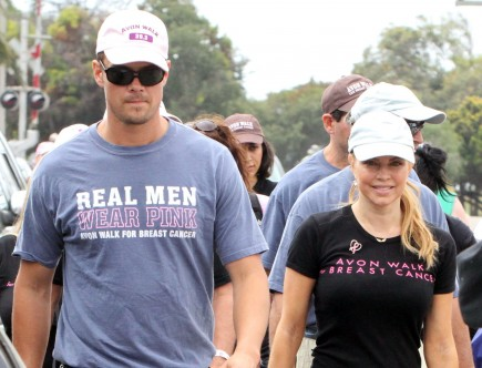 Josh Duhamel and Fergie. Photo: Fame Pictures