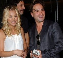 'Big Bang Theory' Co-Stars Kaley Cuoco & Johnny Galecki Secretly Dated