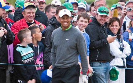 Tiger Woods. Photo: Barcroft/Fame Pictures