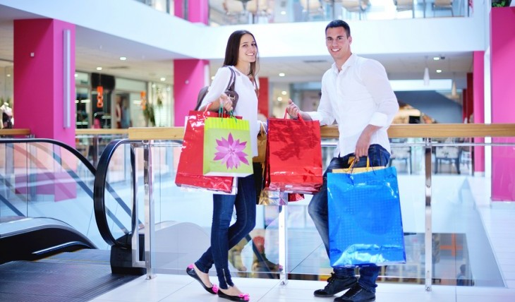 Shop until you drop with your partner! Photo: Shock / Bigstock.com
