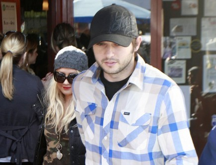 Christina Aguilera and Matthew Rutler. Photo: Pablo/Flynetpictures.com