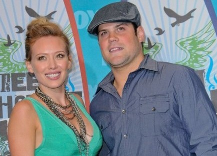 Hilary Duff and Mike Comrie. Photo: Bob Charlotte / PR Photos