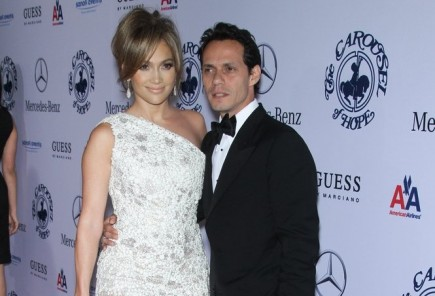 Jennifer Lopez and Marc Anthony. Photo: Chris Hatcher / PR Photos