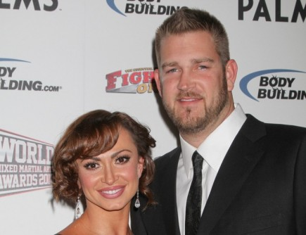 Karina Smirnoff and Brad Penny. Photo: PRN / PR Photos