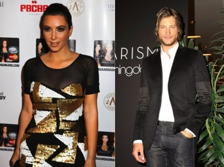 Kim Kardashian and Gabriel Aubry. Photo: Miro Vrlik / PR Photos; Tatiana Beller / PR Photos
