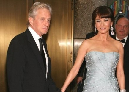 Cupid's Pulse Article: Michael Douglas and Catherine Zeta-Jones Step Out in NYC
