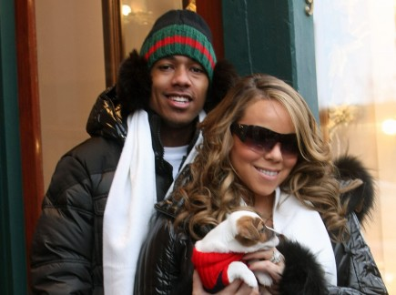 Nick Cannon and Mariah Carey. Photo: Fame Pictures
