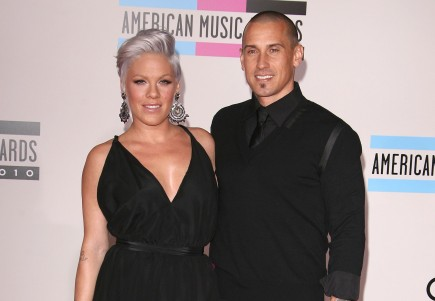 Pink and Carey Hart. Photo: Juan Rico/Fame Pictures