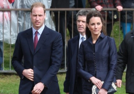 Prince William and Kate Middleton. Photo: Landmark / PR Photos