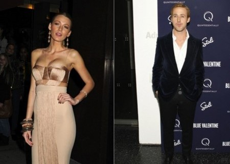 Blake Lively and Ryan Gosling. Photo: Janet Mayer / PR Photos; Sylvain Gaboury / PR Photo