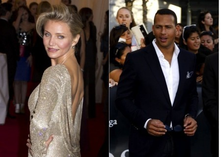 Cameron Diaz and Alex Rodriguez. Photo: Janet Mayer / PRPhotos.com; David Gabber / PR Photos