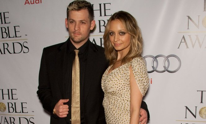 Cupid's Pulse Article: Nicole Richie and Joel Madden Wed with Elephant
