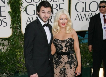 Matt Rutler and Christina Aguilera. Photo: Bob Charlotte / PR Photos