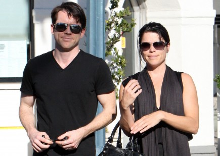 Neve Campbell with John Light